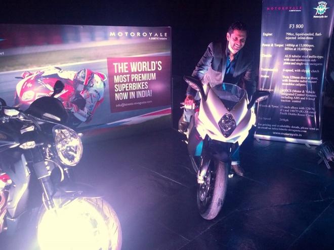 Bo doi sieu moto cua MV Agusta ra mat o An Do hinh anh 2