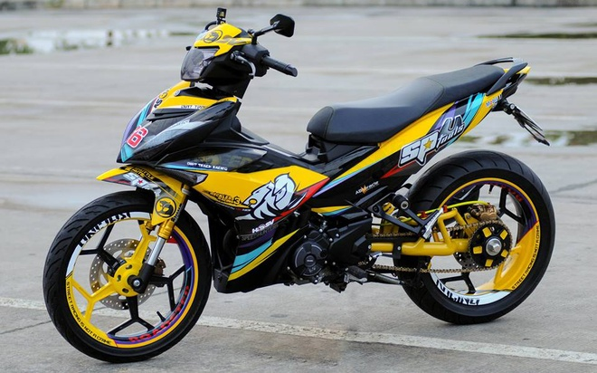 Exciter 150 lay cam hung tu xe dua cua biker An Giang hinh anh 1