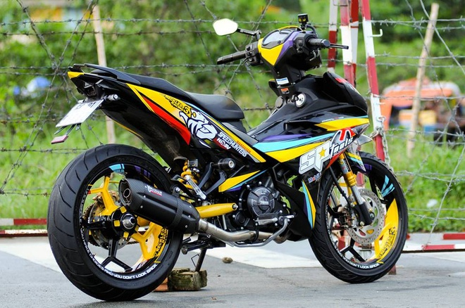 Exciter 150 lay cam hung tu xe dua cua biker An Giang hinh anh 4
