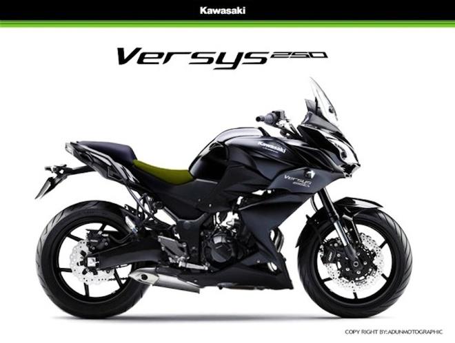 Kawasaki Versys 250 ra mat thang 12 hinh anh 1