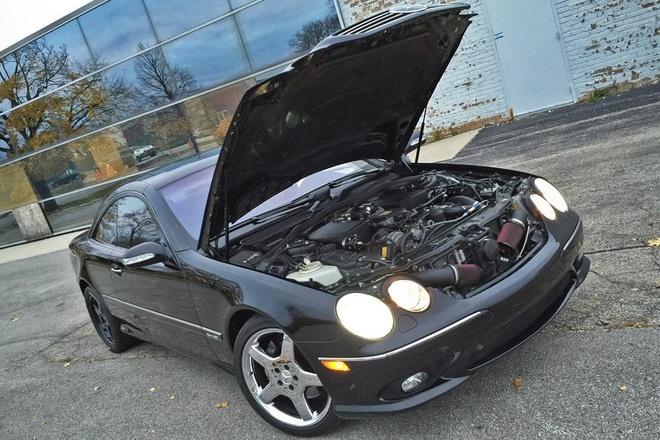 Mercedes-Benz CL 600 do cong suat 1.000 ma luc hinh anh