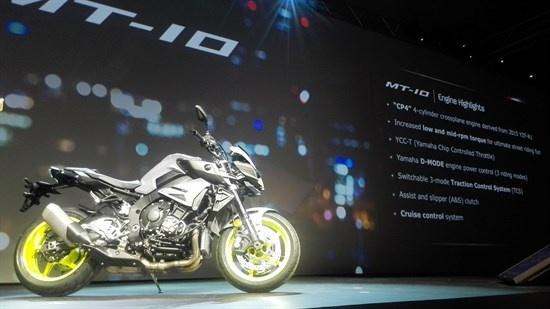 Yamaha ra mat MT-10 canh tranh BMW S1000R hinh anh