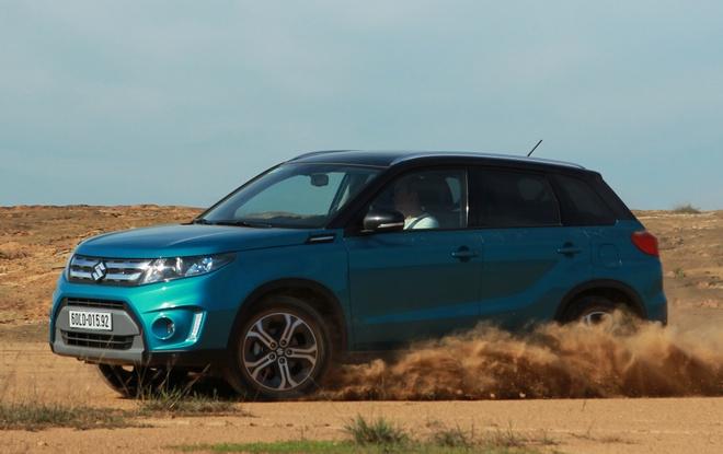 Chay thu Suzuki Vitara 2015: Mau SUV dam chat chau Au hinh anh