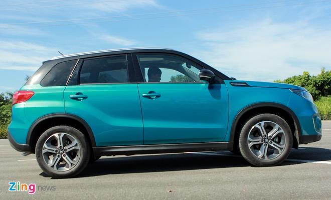 Chay thu Suzuki Vitara 2015: Mau SUV dam chat chau Au hinh anh 1