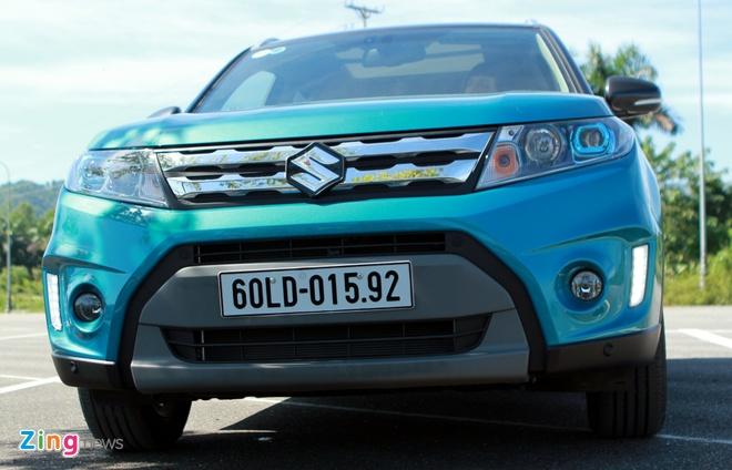 Chay thu Suzuki Vitara 2015: Mau SUV dam chat chau Au hinh anh 2