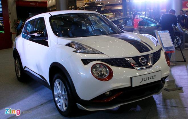 Nissan Juke gan loat phu kien the thao o Ha Noi hinh anh 9