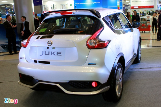 Nissan Juke gan loat phu kien the thao o Ha Noi hinh anh 6