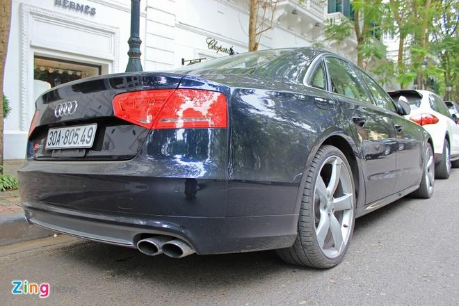 Sedan the thao hang sang Audi S8 xuat hien o Ha Noi hinh anh 6