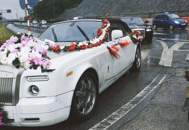 Dam cuoi voi dan Rolls-Royce di ruoc dau o Quang Ninh hinh anh 1
