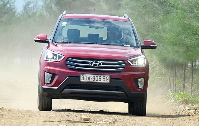 Chay thu Hyundai Creta: SUV co nho rong rai hinh anh