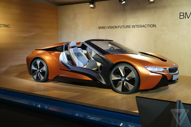 Y tuong BMW i8 Spyder tu lai hinh anh