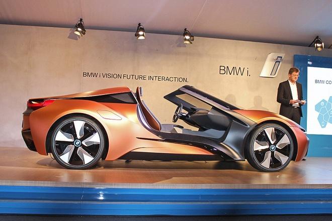 Y tuong BMW i8 Spyder tu dieu khien ra mat o CES 2016 hinh anh 2
