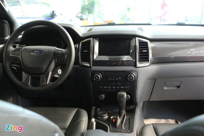 Chi tiet Ford Everest 2016 gia hon 1,6 ty dong vua ban o VN hinh anh 6