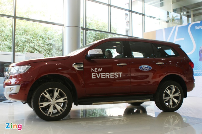 Chi tiet Ford Everest 2016 gia hon 1,6 ty dong vua ban o VN hinh anh 1