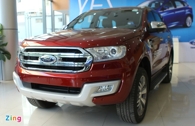 Chi tiet Ford Everest 2016 gia hon 1,6 ty dong vua ban o VN hinh anh 3