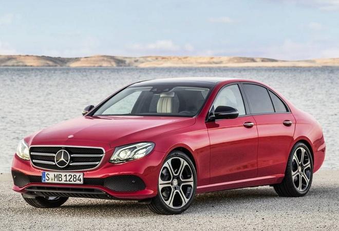 Mercedes-Benz E-Class the he thu 10 chinh thuc ra mat hinh anh