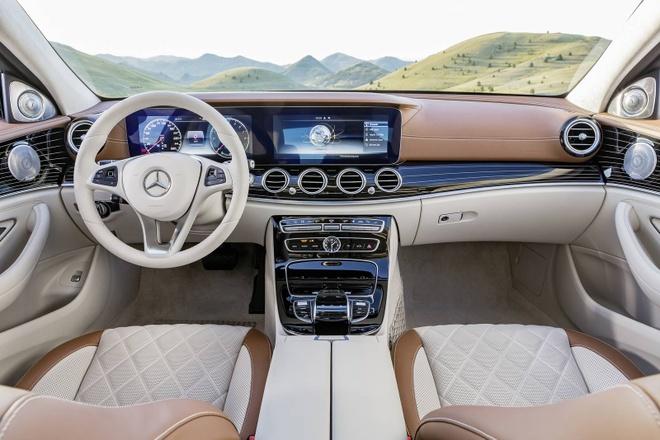 Mercedes-Benz E-Class the he thu 10 chinh thuc ra mat hinh anh 6