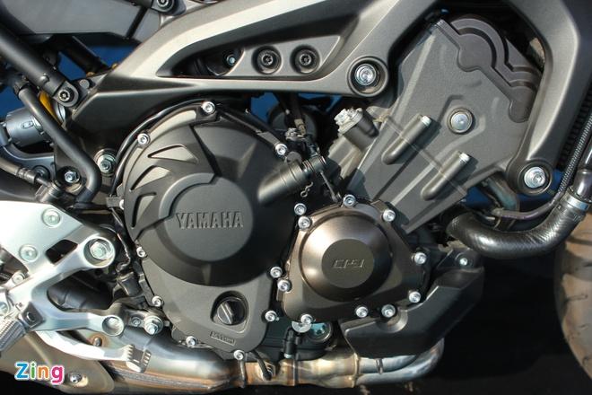 Chi tiet Yamaha MT-09 moi co mat o Viet Nam hinh anh 12