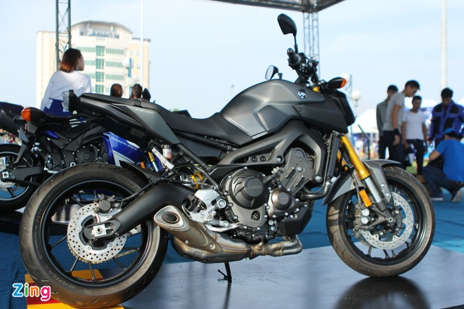 Chi tiet Yamaha MT-09 moi co mat o Viet Nam hinh anh 13