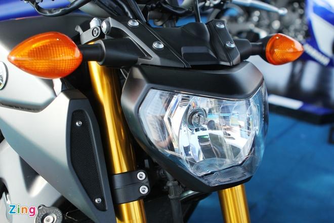 Chi tiet Yamaha MT-09 moi co mat o Viet Nam hinh anh 2