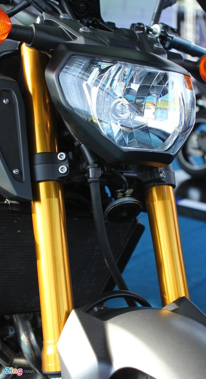 Chi tiet Yamaha MT-09 moi co mat o Viet Nam hinh anh 3