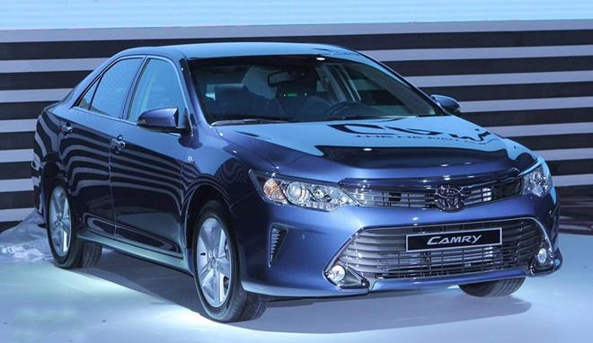 Toyota bi canh tranh manh trong nam 2015 o Viet Nam hinh anh