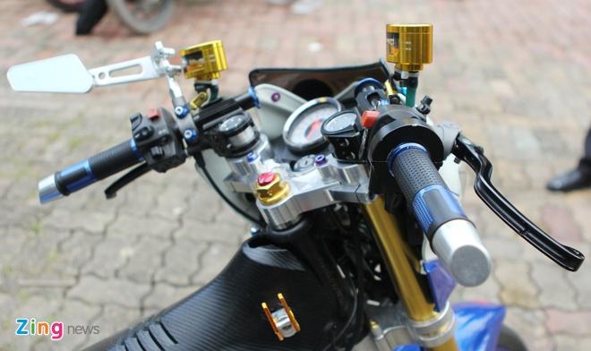 Suzuki Raider gan 100 trieu tien do choi tai Ha Noi hinh anh 4