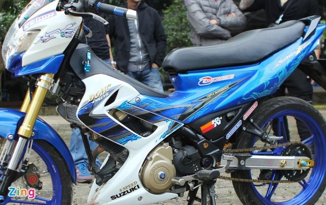 Suzuki Raider gan 100 trieu tien do choi tai Ha Noi hinh anh 2