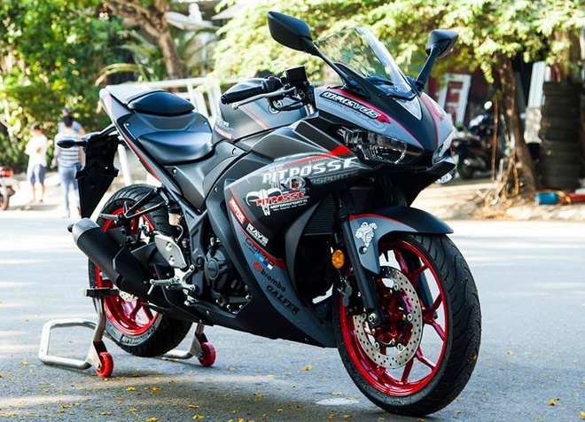Yamaha R3 son phoi mau cung cap cua biker Vinh Long hinh anh