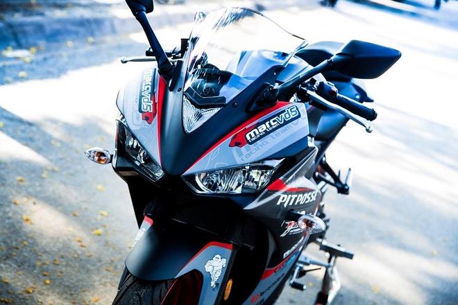 Yamaha R3 son phoi mau cung cap cua biker Vinh Long hinh anh 2