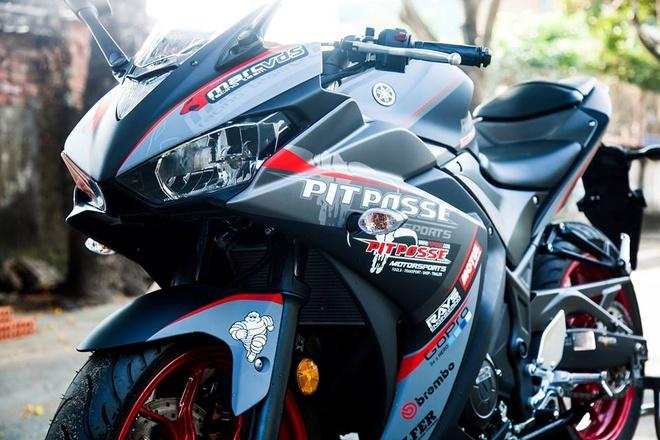 Yamaha R3 son phoi mau cung cap cua biker Vinh Long hinh anh 3