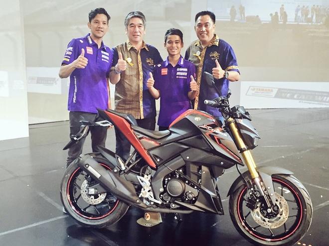 Moto 150 phan khoi Yamaha Xabre ra mat o Indonesia hinh anh 1