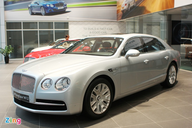 Cap Bentley Flying Spur W12 chinh hang gia tu 11,4 ty dong hinh anh 1