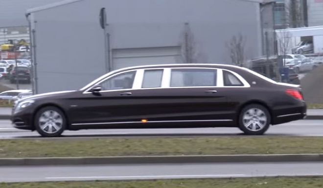 Mercedes-Maybach S600 Pullman lo dien o Duc hinh anh