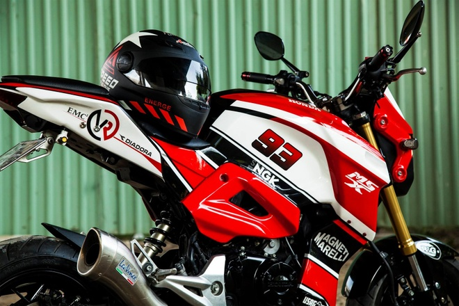 Honda MSX 125 do dan ao the thao cua biker Sai Gon hinh anh