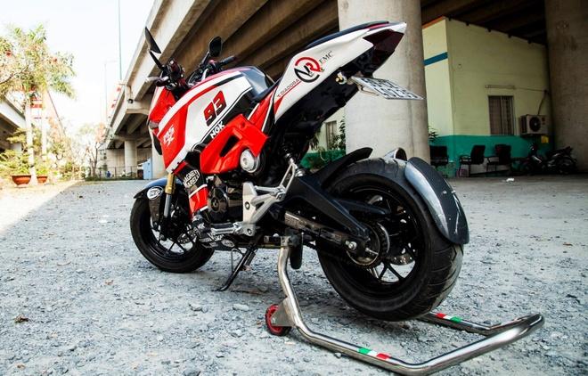 Honda MSX 125 do dan ao the thao cua biker Sai Gon hinh anh 4