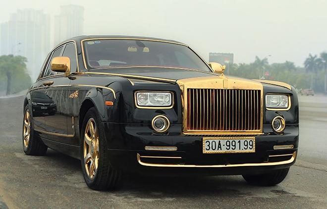 Dai gia Ha Noi lam moi Rolls-Royce Phantom ma vang don Tet hinh anh