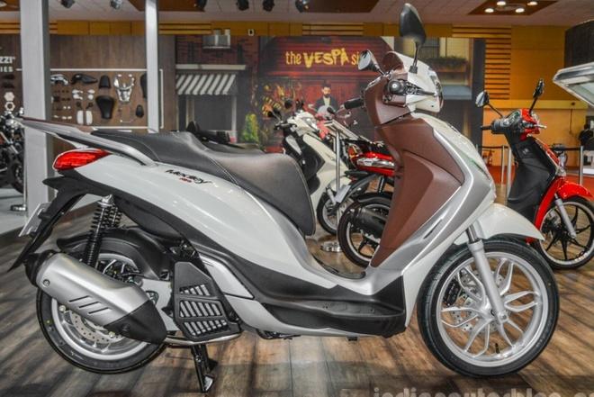 Piaggio Medley 125 ABS - doi thu moi cua Honda SH hinh anh