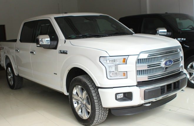 Them cap xe ban tai do so Ford F-150 ve Viet Nam hinh anh