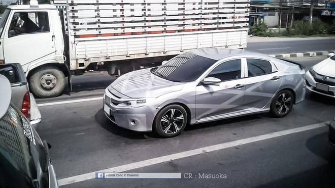 Honda Civic 2016 chuan bi den thi truong Dong Nam A hinh anh 1
