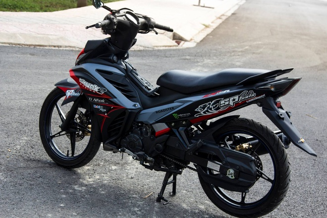 Exciter 2011 che mu dan vo the thao o Sai Gon hinh anh 1