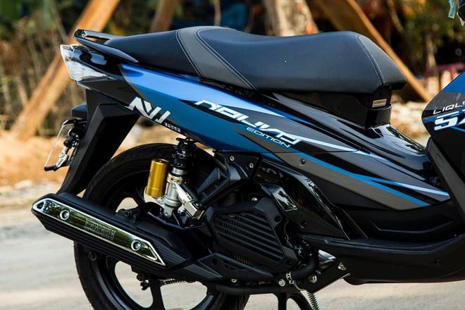 Nouvo Fi 2015 son tem dau dan ao cua biker Ha Noi hinh anh 2