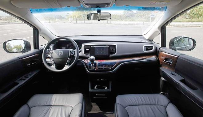 Chay thu Honda Odyssey: Mau xe gia dinh dam chat Nhat hinh anh 3