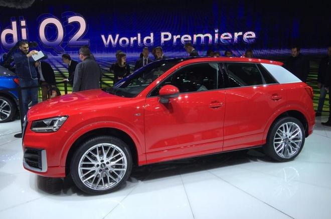 Audi trinh lang crossover co nho Q2 hinh anh 1