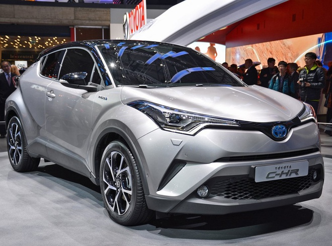 Toyota trinh lang crossover the thao C-HR hinh anh 1
