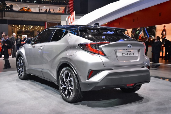Toyota trinh lang crossover the thao C-HR hinh anh 2