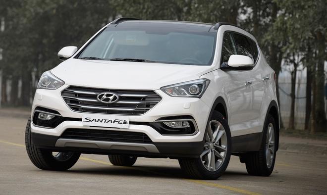 Hyundai Santa Fe 2016 noi gia tu 1,1 ty dong hinh anh