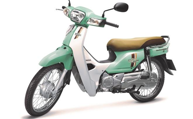 5 mau cua Honda Super Dream 110 hinh anh 1