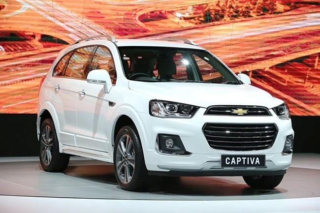 Chevrolet Captiva 2016 co gia 879 trieu dong o Viet Nam hinh anh