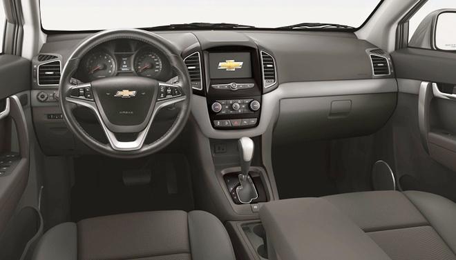 Chevrolet Captiva 2016 co gia 879 trieu dong o Viet Nam hinh anh 2